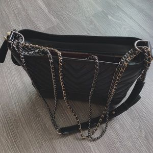 CHANEL Gabrielle medium black crossbody bag